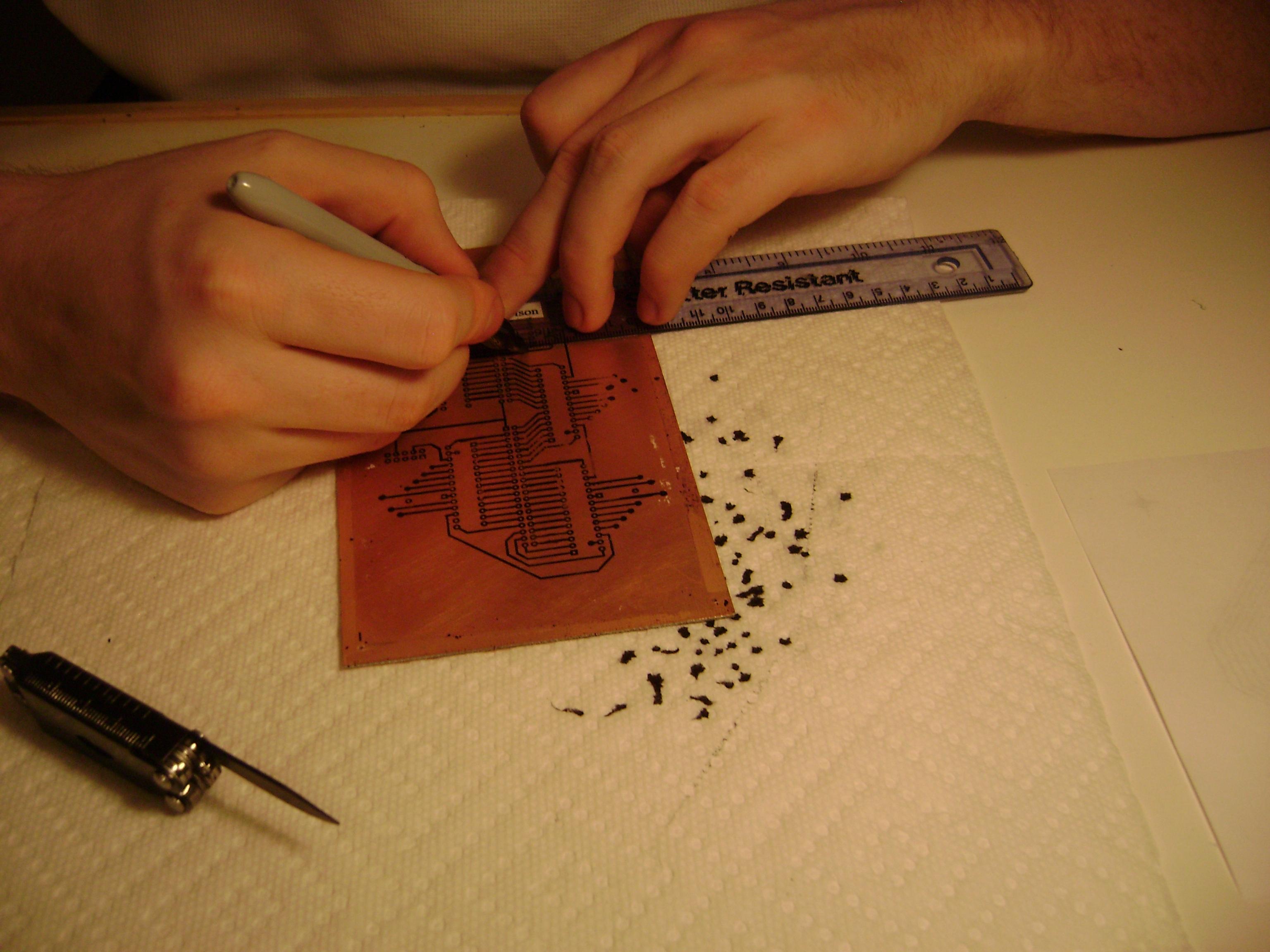 Copper Circuit Board Etching Wiring Diagram Master Blogs Boards A Heath Paddock Rh Heathpaddock Com Pcb